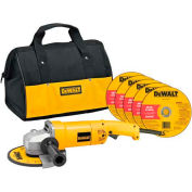 "DeWALT® DW840K 7"" Medium Angle Grinder Kit"