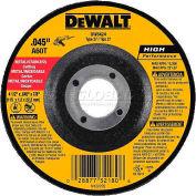 "DeWalt DW8424 Metal & Stainless Cutting Wheel Type 27 4-1/2"" DIA. 60 Grit Aluminum Oxide - Pkg Qty 25"