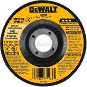 "DeWalt Metal Cutting & Grinding Wheel, DW8435, Type 27, 4-1/2"" Diameter, 13300 RPM, 10/PK - Pkg Qty 10"