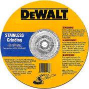 "DeWalt Stainless Grinding Wheel, DW8464, Type 27, 5"" Diameter, 12200 RPM, 25/PK - Pkg Qty 25"