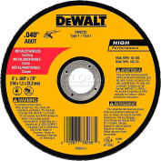 "DeWalt DW8725 Metal & Stainless Cutting Wheel 6"" DIA..040"" Thick 60 Grit Aluminum Oxide - Pkg Qty 25"
