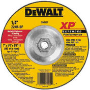 "DeWalt Metal & Stainless Grinding Wheel, DW8826, Type 27, 7"" Diameter, 8700 RPM, 10/PK - Pkg Qty 10"
