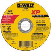 "DeWalt DW8851 Metal & Stainless Cutting Wheel 4-1/2"" DIA..045"" Thick 60 Grit Zirconia - Pkg Qty 25"
