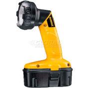 DeWALT® Cordless Pivoting Head Flashlight, DW908, Xenon bulb, 18V