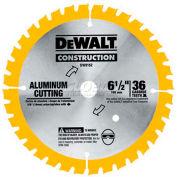 """DeWALT® Aluminum Cutting Blade, DW9152, 5/8"""" Arbor, 6-1/2"""" Diameter, 36 TPI - Pkg Qty 5"""