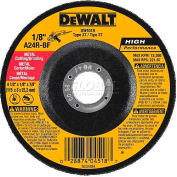 "DeWalt DWA4531 Metal Cutting Wheel Type 27 4-1/2"" DIA. 24 Grit Aluminum Oxide - Pkg Qty 25"