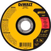 """DeWalt DWA8062F HP Metal Cutting Wheels Type 1 4-1/2"""" x 7/8"""" Aluminum Oxide 60 Grit - Pkg Qty 25"""