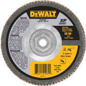 "DeWalt DWA8288H Flap Disc 7"" X 5/8""-11 T29 Ceramic 80 Grit - Pkg Qty 5"
