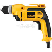 "DeWALT 3/8"" VSR Pistol Grip Drill Kit, DWD110K, 8 Amps, 650W, 0-2500 RPM, Single Gear Reduction"
