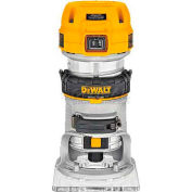 DeWALT® 1-1/4 HP Max Torque Variable Speed Compact Router, DWP611, 7.0 Amps, 1600-27000 RPM