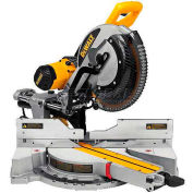 "DeWALT® Miter Saw, DWS780, 12"" Double Bevel Sliding Compound Miter Saw, 3800 RPM"