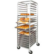 Winco ALRK-20 - Sheet Pan Rack, 20-Tier, Aluminum, Ships Knock Down