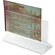 Winco ATCH-53 Table Card Holder, Acrylic - Pkg Qty 12