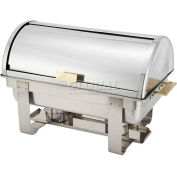 Winco C-5080 Roll-Top Chafer, 8 Qt., Roll Top