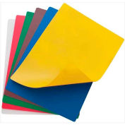 "Winco CBF-1824 Flexible Cutting Mats, 18""L, 24""W, Assorted Colors - Pkg Qty 6"