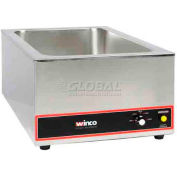 Winco FW-S500 Electric Food Warmer, Stainless Steel
