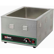 Winco FW-S600 Electric Food Cooker/Warmer, Stainless Steel