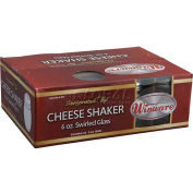 Winco G-307 Cheese Shakers W/ Perforated Tops