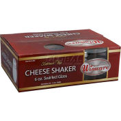 Winco G-308 Cheese Shakers W/ Slotted Tops