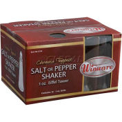 Winco G-310 Tower Shakers W/ Chrome Tops - Pkg Qty 3