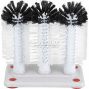 Winco GWB-3 - Triple Glass Washer Brush