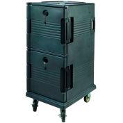 """Winco IFT-2 Insulated Food Transporter, 2-1/2"""" - 6"""" Deep Pans, Polypropylene, Green"""