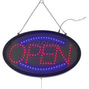 "Winco LED-10 LED ""OPEN"" Sign, 3 Patterns"
