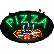 "Winco LED-11 LED ""PIZZA"" Sign, 3 Patterns"