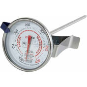 Winco TMT-CDF2 Dial Deep Fryer Thermometer - Pkg Qty 24