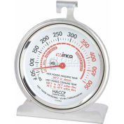 Winco TMT-OV3 Dial Oven Thermometer with Base and Hook - Pkg Qty 24