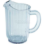 Winco WPS-60 Water Pitchers, Plastic