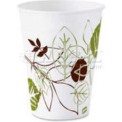 Dixie Wax Paper Cups, 5 Oz., Nature Design, 50/Pack, White