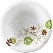 Dixie Paper Bowls, 12 Oz., Microwavable, Heavy Weight, 1,000/Carton, White/Pathways Design