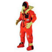 Kent 154100-200-005-13 Commercial Immersion Suit, USCG/SOLAS/MED, Red/Yellow, Oversized
