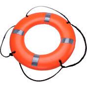 "Datrex DX024RD Life Ring w/Tape, USCG/TC, Orange, 24"""