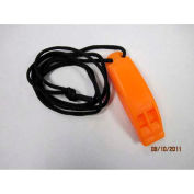 Datrex Whistle w/Lanyard, Orange 1/Case - DX0276M