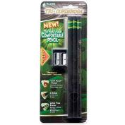 Dixon® Tri-Conderoga #2 Pencil with Sharpener, Black Barrel, 6/Pack