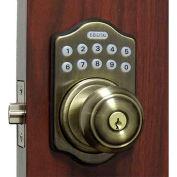 Lockey Electronic Digital Door Lock E-930R Knob Lock, Antique Bronze