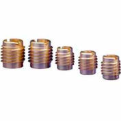 1/4-28 Insert For Hard Wood - Brass - 400-428 - Pkg Qty 25