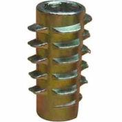 1/4-20 Insert For Soft Wood - Flush - 801420-20 - Pkg Qty 50