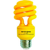 Earthtronics CF13BG1B Mini Spiral CFL Bug Light, 13W, Yellow, 200 Lumens