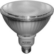 Earthtronics FP3823301B Flat PAR38 Floodlight, 23W, 3000K, 1280 Lumens