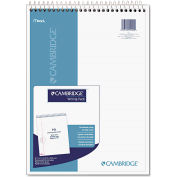 """Mead® Cambridge® Wirebound Numbered Legal Pad 59006, 8-1/2"""" x 11-3/4"""", 70 Sheets/Pad"""