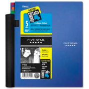 "Mead® Five Star 5-Subject Advance Notebook, 8-1/2"" x 11"", College Ruled, 200 Sheets/Pad"
