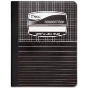 "Mead® Composition Notebook, 7-1/2"" x 9-3/4"", Quad Ruled/College Ruled, 100 Sheets/Pad"
