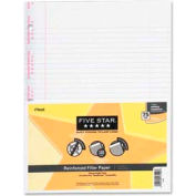 """Mead® Filler Paper, 8-1/2"""" x 11"""", College Ruled, 3-Hole Punched, White, 100 Sheets/Pack"""
