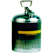 Eagle Type I Stainless Safety Can - 5 Gallons, 1315