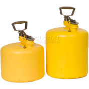Eagle Type I Poly Safety Can - 5 Gallons - Yellow, 1539
