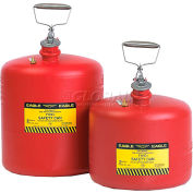 Eagle Type I Poly Safety Can - 5 Gallons - Red, 1543