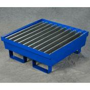 """Eagle 1 Drum Spill Containment Platform 1611ST - 27""""W x 25-11/16""""D x 6""""H, Steel"""